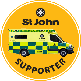 St John Ambulance supporter
