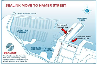 Hamer Street move map